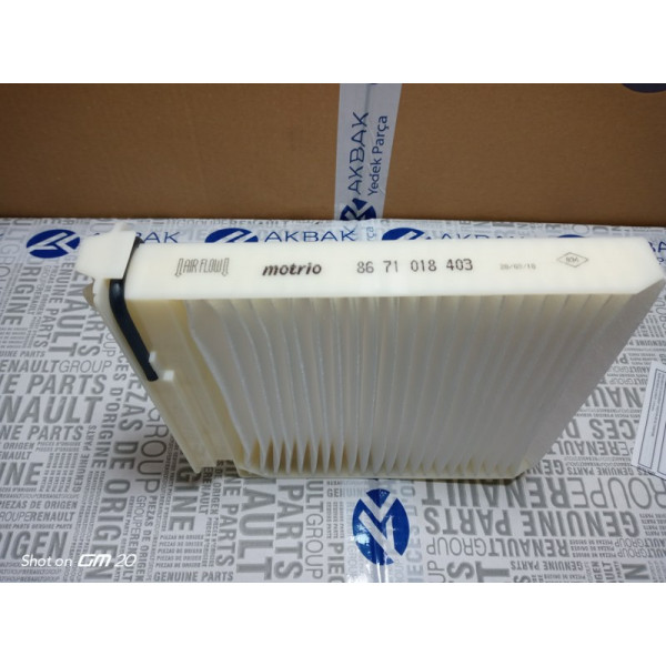 8671018403 - MEGANE 2 MOTRIO POLEN FİLTRESİ MGN II CLIO III