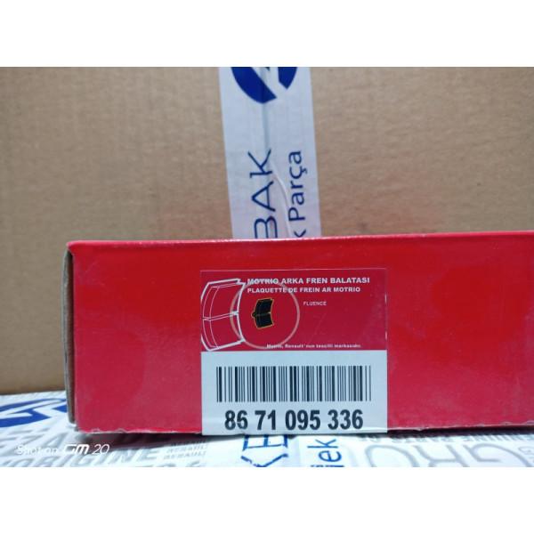 8671095336 - FLUENCE MOTRIO ARKA FREN BALATASI